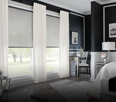 window-treatments SOLAR SHADES & DRAPERIES