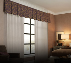 window-treatments FABRIC VERTICALS & VALANCE
