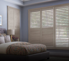 window-treatments WOOD SHUTTERS