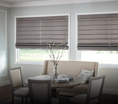 window-treatments ROMAN SHADES