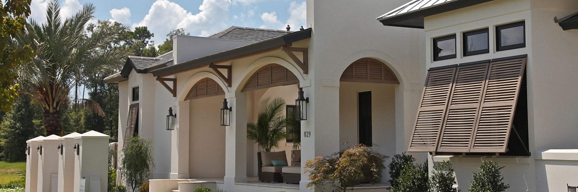 SO-Outdoor Bahama Shutters