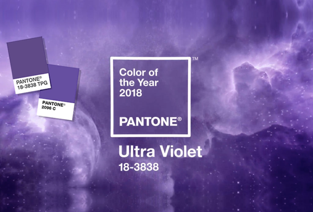 Pantone's Color of the Year for 2018 is (drumroll please)...Ultra Violet!