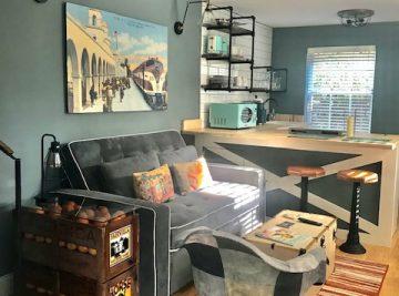 Secret Garden – Airbnb sohointeriordesign project