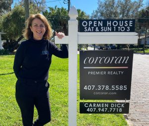 Carmen selling home staged property